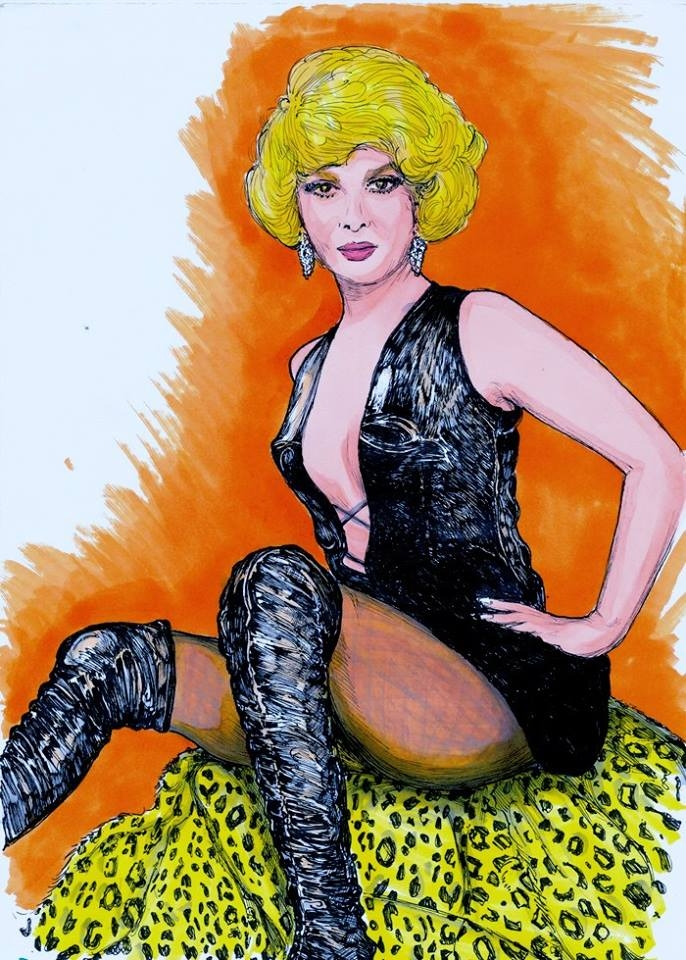 Gina Lollobrigida by didgiv